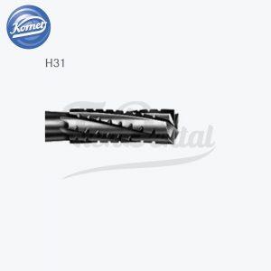 Fresa-H31-Carburo-Tungsteno-Cilíndrica-Komet-TienDental