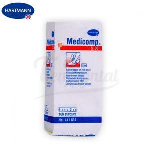 Gasas-Medicomp-5x5-Hartmann-TienDental-material-clinica