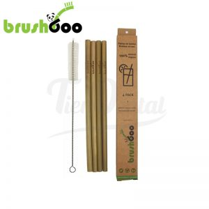 Pajitas-de-Bambú-Ecológicas-Brushboo-pack-TienDental