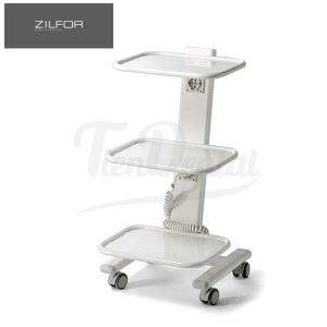 Carrito-Móvil-3-Estantes-C3R-Electrificado-Zilfor-TienDental-mobiliario-clínica-dental