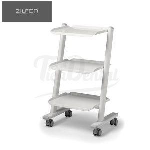 Carrito-Móvil-3-Estantes-C3RK-Electrificado-Zilfor-TienDental-mobiliario-clínica-dental