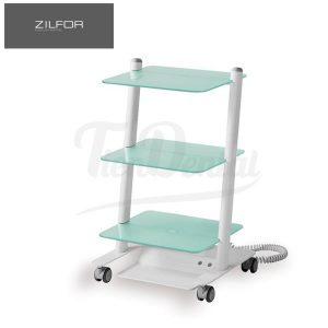 Carrito-móvil-3-estantes-C3RGLASS-Zilfor-TienDental-mobiliario-clínica