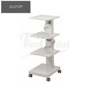 Carrito-móvil-4-estantes-C4RQ-Zilfor-TienDental-mobiliario-clínica