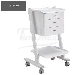 Carrito-móvil-con-3-cajones-C2RK3-Zilfor-TienDental-mobiliario-clínica