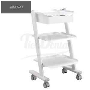Carrito-móvil-con-cajón-C3RK1-Zilfor-TienDental-mobiliario-clínica