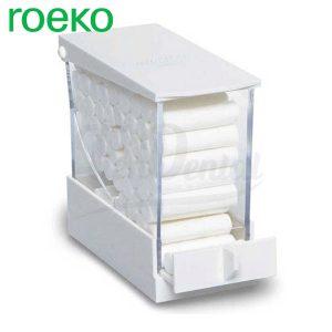 Dispensador-Rollos-algodón-Lunamat-Roeko-Tiendental-material-odontológico