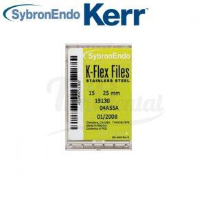 Limas-manuales-K-Flex-Kerr-pack-Tiendental-materiales-endodoncia