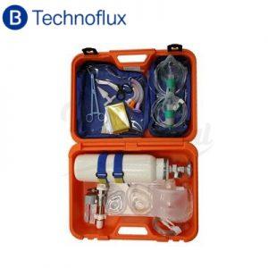 Maletín-Reanimación-Technoflux-con-botella-TienDental-material-sanitario