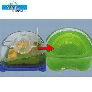 Precigel-Masa-de-duplicación-verde-Yeti-Dental-materiales-laboratorio