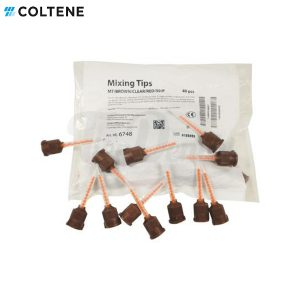 Puntas-mezcla-marrones-Cool-Temp-Natural-Resina-Provisionales-pack-Coltene-Tiendental-material-odontológico
