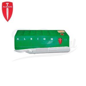 Escalpelo-Albion-Sherwood-TienDental-instrumental-cirugía