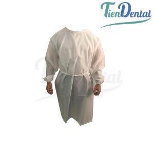 Bata-Reutilizable-con-puños-TienDental-materiales-protección