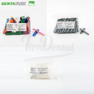 Ligaduras-ortodoncia-Dentaflux-TienDental-material-odontológico-elastómeros