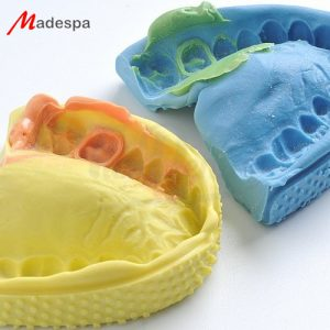 Silicona-Adición-Ventura-impress-2-Putty-fast-regular-set-Madespa-TienDental-material-odontológico