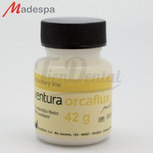 Ventura-Orcaflux-paste-Fundente-Madespa-TienDental-material-odontológico