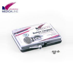 Botón-lingual-Medicaline-10-unidades-TienDental-material-odontológico-ortodoncia