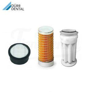 Juego-filtros-compresor-Durr-Tornado-T1-y-T2-TienDental-repuestos-dentales