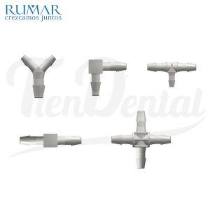 Conector-de-Nylon-surtido-RUMAR-TienDental-repuestos-dentales