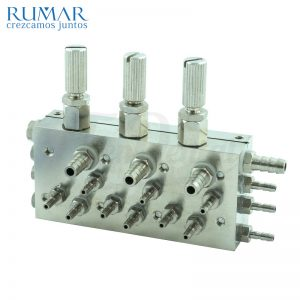Válvula-bloque-3-instrumentos-estándar-38-713-RUMAR-TienDental-repuestos-dentales