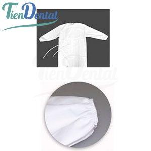 Bata-impermeable-lavable-Blanca-TienDental-material-de-protección-EPI