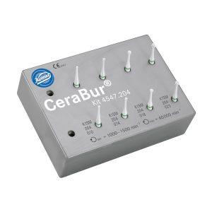 CeraBur-Komet-4547.205 K1SM-fresero-8-ud-TienDental-fresas-dentales
