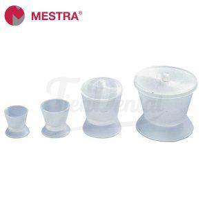 Tacitas-de-silicona-transparente-Mestra-TienDental-material-odontológico