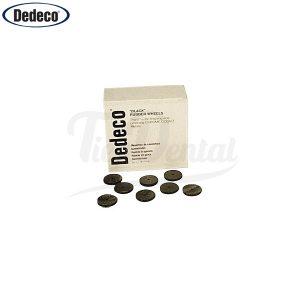 Pulidor-de-goma-rueda-negra-Dedeco-caja-100-uds-TienDental-material-odontológico