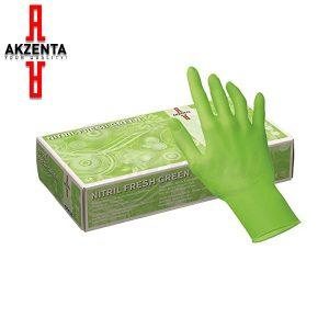 Guantes-de-nitrilo-Akzenta-Style-Nitrilfresh-Green-100-TienDental-guantes-desechables