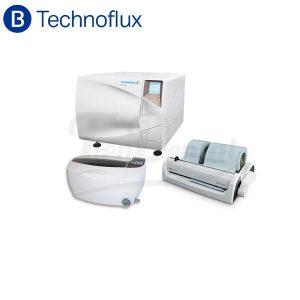 Set-Esterilización-Technoflux-Autoclave-Selladora-Cuba 3L-TienDental-equipamiento-clínica-dental