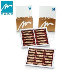 Major-Super-Lux-Dientes-Acrílicos-Anteriores-Superiores-TienDental-material-odontológico