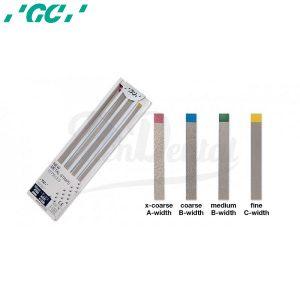 New-Metal-Strips-Tiras-de-acabado-y-pulido-GC-Surtido-TienDental-material-odontológico