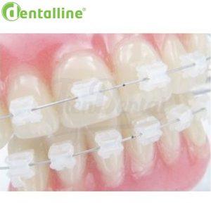 Arcos-Memoria-Ni-Ti-Zafiro-Estéticos-dentalline-TienDental-material-ortodoncia