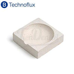 Cazoleta-refractaria-cuadrada-Technoflux-TienDental-materiales-laboratorio