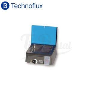 Calentador-de-cera-3-depósitos-Technoflux-TienDental-equipamiento-laboratorio-depósito-dental