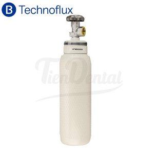 Botella-de-oxígeno-2-litros-sin-carga-Technoflux-TienDental-equipamiento-clínica-dental