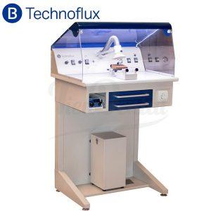 Estación-de-trabajo-para-pulido- aspiración-y-micromotor-Technoflux-TienDental-equipamiento-laboratorio-protésico