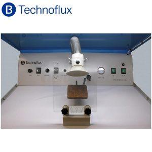 Estación-de-trabajo-para-pulido- aspiración-y-micromotor-Technoflux-TienDental-mobiliario-laboratorio-protésico