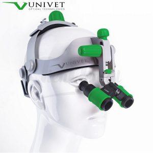 Headgear-prismatic-binoculars-flip-up-Univet-TienDental-equipamiento-clínica-depósito-dental