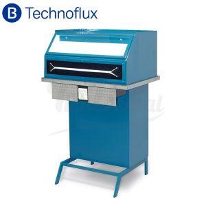 Mesa-de-pulir-con-aspiración-y-luz-LED-Technoflux-TienDental-mobiliario-laboratorio