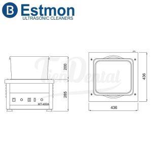 Pulidora-Magnética-Estmon-MT-400-con-regulador-y-extractor-medidas-TienDental-equipamiento-joyería
