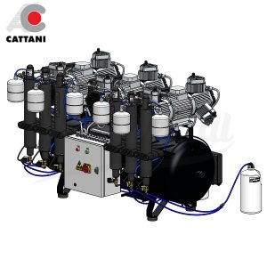 Compresor-Cattani-AC-1800-Para-30-equipos-TienDental-equipamiento-clínica-dental