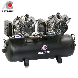 Compresor-Cattani-AC-400-Para-7-equipos-TienDental-equipamiento-clínica-dental