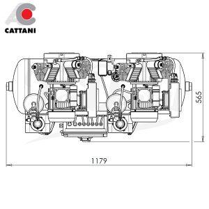 Compresor-Cattani-AC-400-Para-7-equipos-TienDental-equipamiento-clínica-dental-medidas