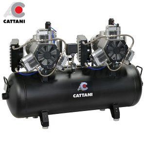 Compresor-Cattani-AC-600-Para-10-equipos-TienDental-equipamiento-clínica-dental