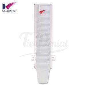 Dispensador-de-vasos-desechables-Medicaline-TienDental-material-clínica-dental