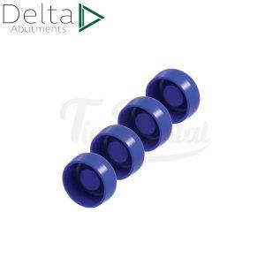 Pack-4-hembras-Delta-Loc-RR-Azul-25PACK-RA-TienDental-Material-odontológico-Aditamentos-protésicos