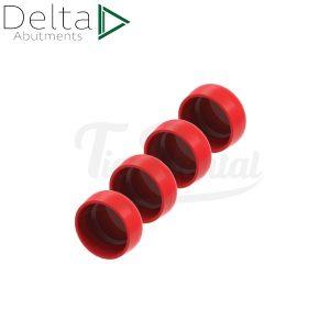 Pack-4-hembras-Delta-Loc-RR-Rojo-25PACK-RRD-TienDental-Material-odontológico-Aditamentos-protésicos