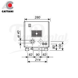 Uni-Jet-75-Carenado-Aspiración-de-anillo-seco-Insonorizado-Cattani-TienDental-equipamiento-clínica-dental-medidas