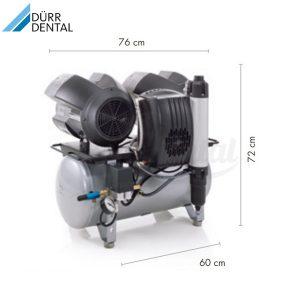 Compresor-Tornado-T4-Durr-Medidas-TienDental-equipamiento-clínica-dental-compresores-dentales