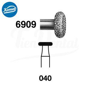 Fresa-Turbina-6909.314.040-Komet-1UD-TienDental-material-odontológico-fresas-dentales